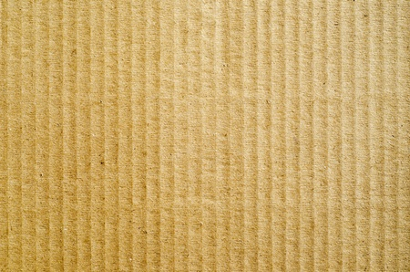 brown corrugated cardboard as background Stock Photo - 9223442