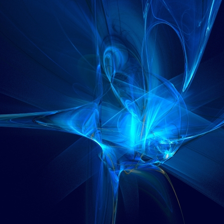 shining light: good abstract figure to background. fractal rendered