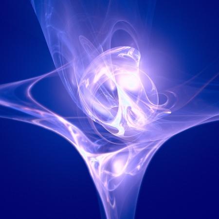 kosmos: gute abstrakte Figur auf Hintergrund. Fraktal gerendert