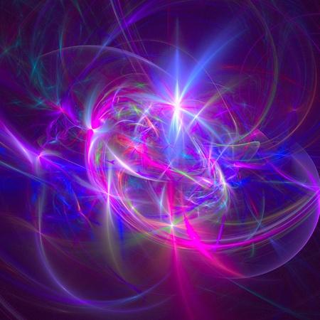 buena figura abstracta de fondo. fractal prestados