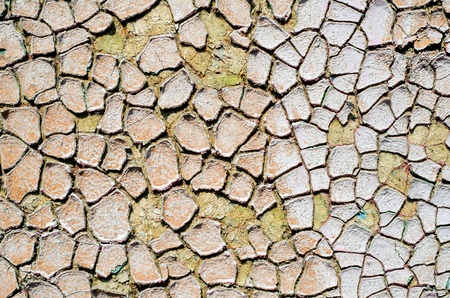 cracked grunge old wall background photo