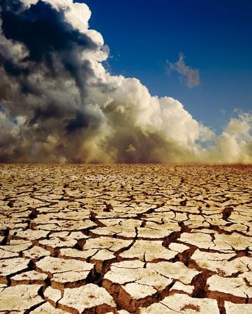 sequias: calentamiento global Foto de archivo