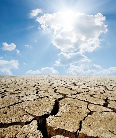 calentamiento global: calentamiento global Foto de archivo