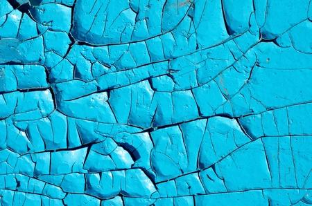 old blue paint texture closeup photo