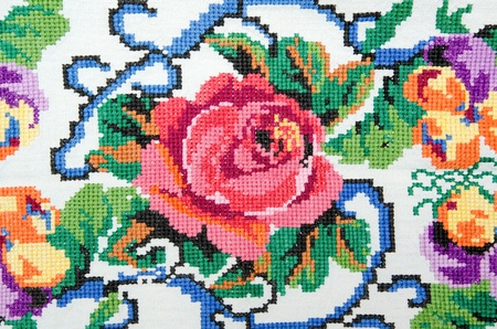 the embroidery: bordados buen punto de cruz patrones. ornamento �tnico ucraniano