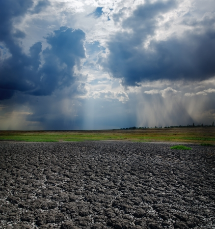 drought earth and dramatic sky Stock Photo - 15153298