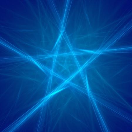 pentagon: abstract pentagon background on dark  fractal rendered