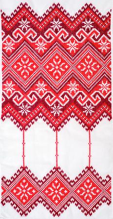 クロスステッチのパターンで刺繍入り良い。ウクライナの民族の飾り