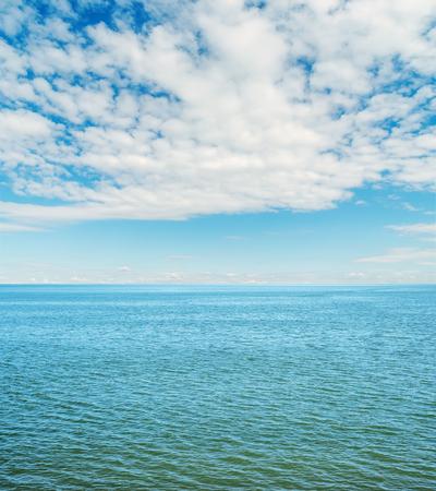 cloudy sky: cloudy sky over sea