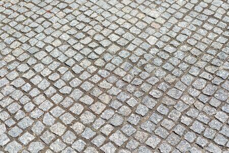 Pavimento de adoquines como fondo o textura