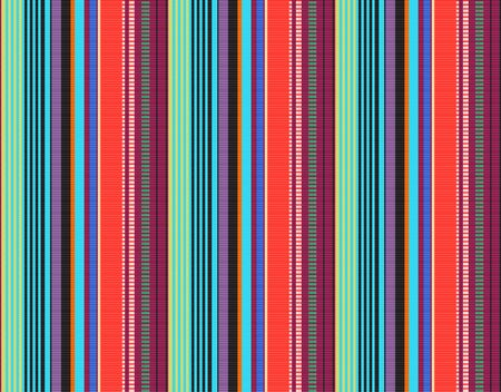detail background with mexican color. texture pattern for continuous replicate. mexican rug pattern. serape stripes vector Vetores