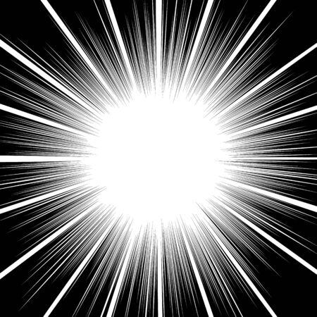 lines abstract design. star burst effect background. 일러스트