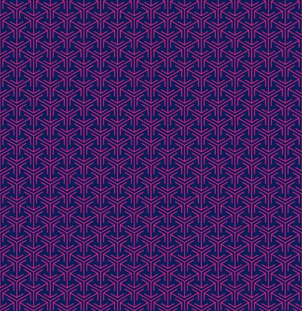 Abstract seamless arrow pattern in japanese style
