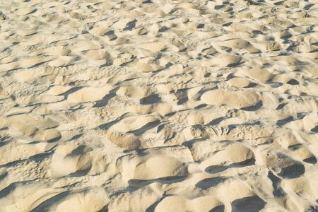yellow sand as background or texture 스톡 콘텐츠