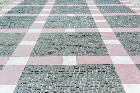 new pavement as background or texture 스톡 콘텐츠