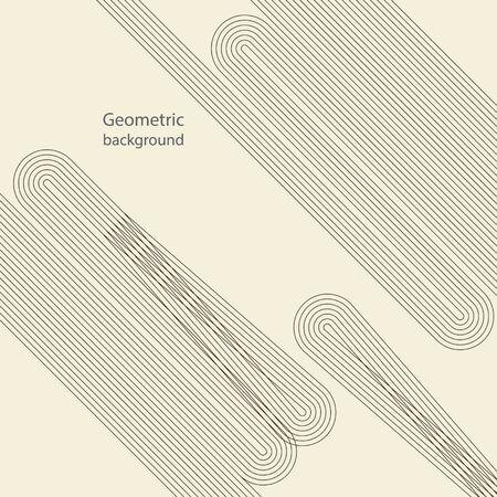geometric style line pattern background Ilustração