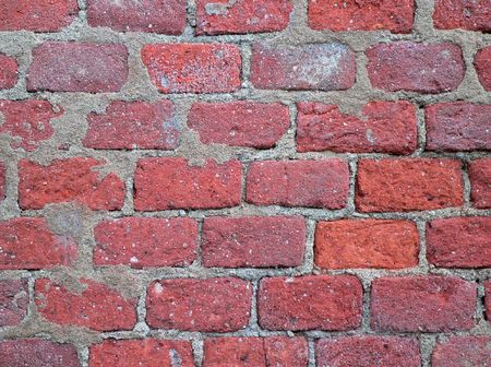 The fragment of the wall of brick. Stock Photo - 6088270