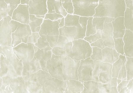 split level: The crack on the wall close-up. Stock Photo
