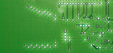 Electronic circuit board close up. Stock Photo - 8196587
