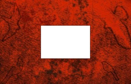 The album cover for scrapbook. photo