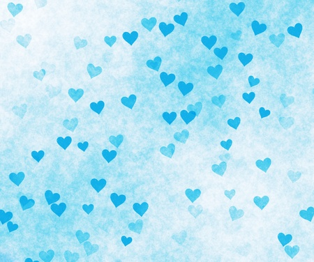 The grunge background from hearts. Stock Photo - 9096339