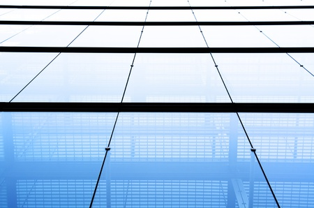The wall of office tower. Bottom view. Stock Photo - 11279771