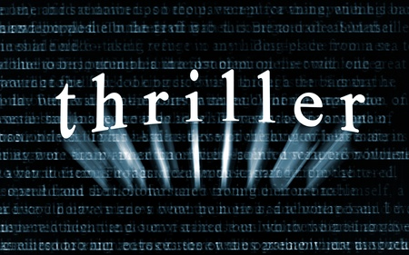 thriller: The word  Stock Photo