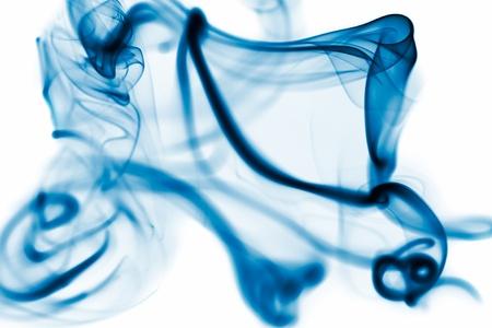 Abstract smoke on white background. Stock Photo - 12056091