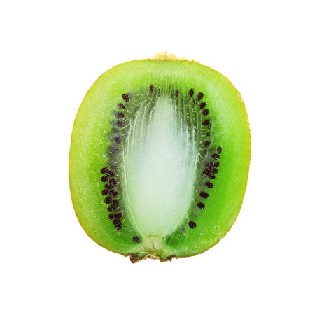 kiwi isolated on white background photo