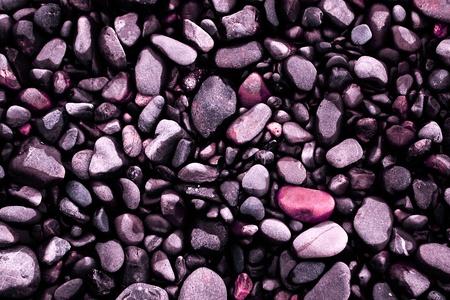 pink peeble stones close up photo