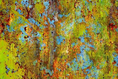 rust red: Grunge metal oxidado - resumen de antecedentes Foto de archivo