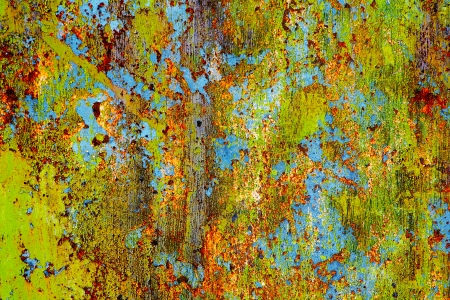 Grunge rusty metal - abstract background