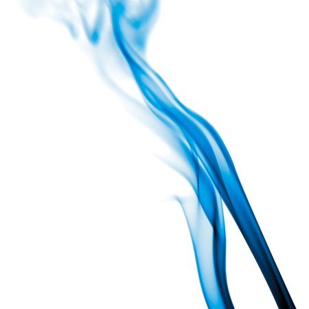 Abstract smoke on white background. photo
