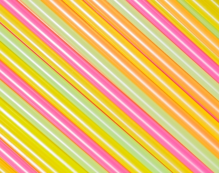 Drinking straw closeup. Abstract background. photo