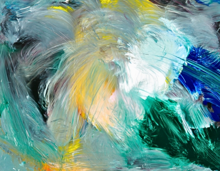 Abstract background. Oil painting - chaos. Stock Photo - 17219141