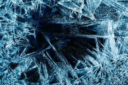 얼음 구조의 추상적 인 배경
