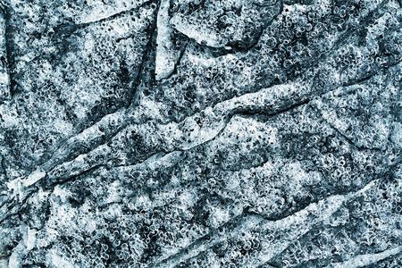 porous: porous ice closeup - abstract background