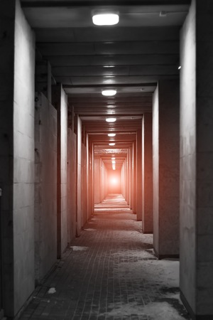 light at the end of the tunnel - door to the Paradise photo