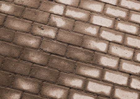cobblestone pavement on a square photo