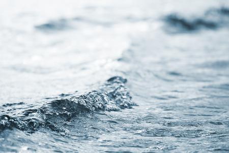 sea wave: sea wave close up, low angle view Stock Photo