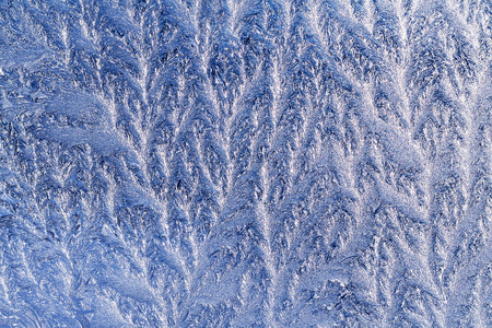 windowpane: white frost on windowpane