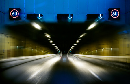 limitation: road tunnel with speed limitation