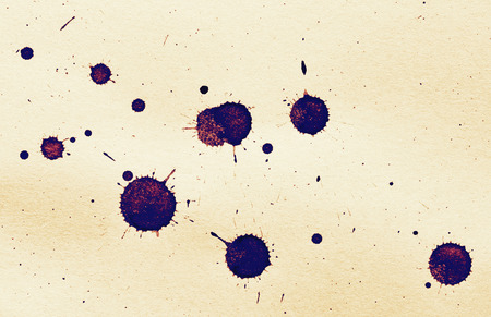 ink blot on a textured paper, grunge image