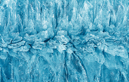 arctic waters: ice crumb close up in spring Stock Photo