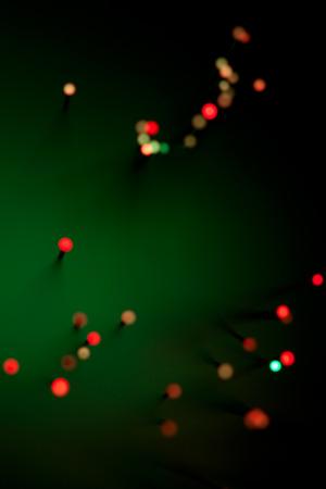 fiber optic lamp: hi-tech concept - defocused illumination from fiber optic glass