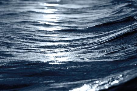 sea wave: sea wave close up at night, low angle view