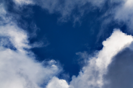 dramatic sky: dramatic sky clouds scene, clouds in the shape of heart