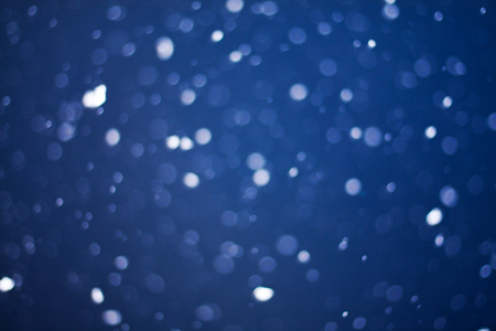 boke: the christmas snowfall in the evening, natural boke background