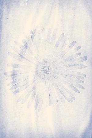 grunge paper with flower watermark