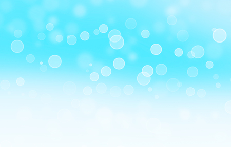optimistic: blue sparkles in winter - optimistic abstract background